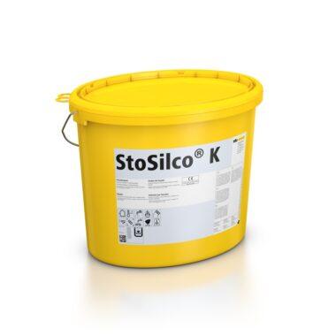 Силиконовая фасадная штукатурка StoSilco K 3,0 мм
