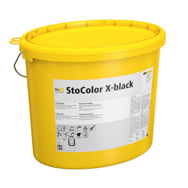 Матовая фасадная краска StoColor X-Black IQ