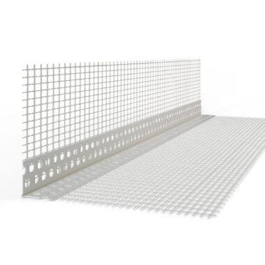 Colțar PVC elastic,pentru fațadă 10*15/2,5 m